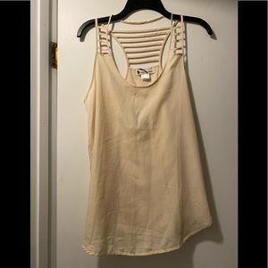 New Imaginary Voyage sheer blouse medium